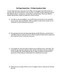 Six Flags Task - Writing Equations