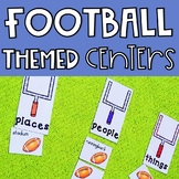 Football Centers: 4 Math and 4 ELA Centers