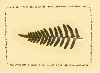 Six Greeting Cards and Thank You Notes