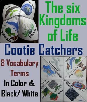 Six Kingdoms of Life Task Cards and Activities Bundle