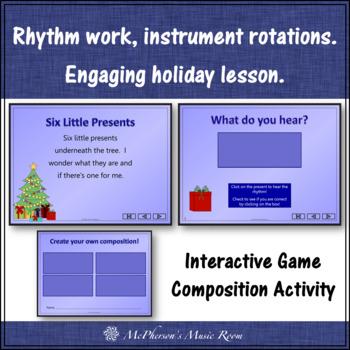 Six Little Presents: Orff, Rhythm, Creativity and Form (eighth notes)