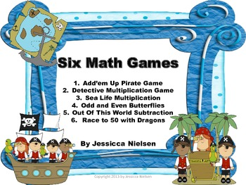 Six Math Games