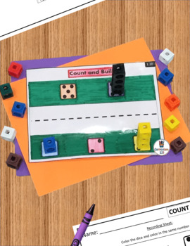 Six Math Centers 1.2: Counting 1 to 5 Using Tally Marks and Math Cubes