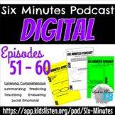 Six Minute Podcast Ep 51 - 60 DIGITAL Questions - Distance Learning