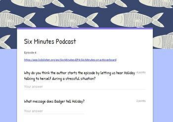 Six Minutes Podcast - Episode 4 - Comprehension Questions - Test Prep
