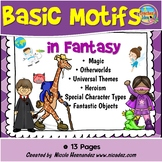 Story Elements Posters for Elementary Classrooms - Fantasy Motifs