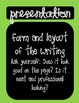 Six Traits of Writing (6+1) Bulletin Board Posters