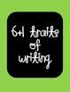 Six Traits of Writing (6+1) Bulletin Board Posters