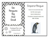 Six Penguins Big and Small - A Fact and Measure Book about Penguins