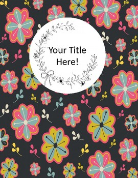 Six Printable Binder Inserts - Introductory Product
