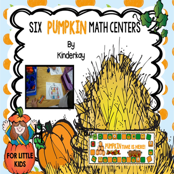 Six Pumpkin Happy Math Centers