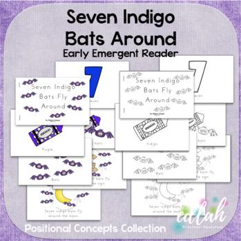 Seven Indigo Bats Early Emergent Reader (Around) - BUNDLE