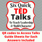 Six Quick Ted Talks to Teach Leadership and Build Characte