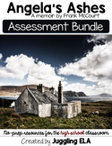 Assessment Bundle for Angela's Ashes by Frank McCourt
