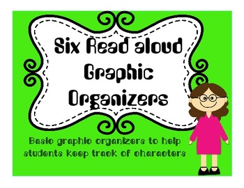 Six Read aloud graphic organizers Zach's Lie, Shooting Kabul, MORE! editable!
