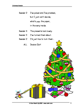 Six Readers Theatre Scripts for Christmas