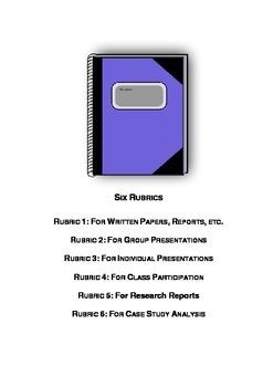 Six Rubrics