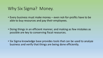 Six Sigma for Healthcare - LESSON ONE - Variation and Multi-Vari