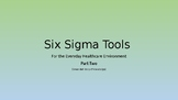 Six Sigma for Healthcare - LESSON TWO - Sampling Plans / C