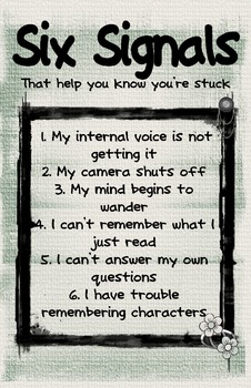 Six Signals You're Stuck Poster