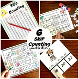 Six Skip Counting Activities for Numbers 2 through 15