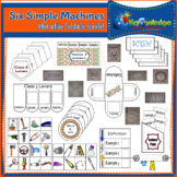 Six Simple Machines Interactive Foldable Booklet
