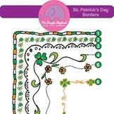 Six St. Patrick's Day Borders