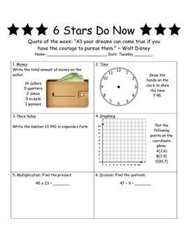 Six Stars Do Now Edition 3