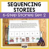 Six Step Sequencing Stories Set 2