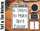 Six Steps to Make April 15th Easier