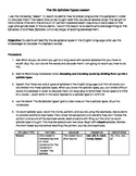Six Syllable Types Lesson, Chart, Practice Sheet, and Assessment