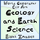 8-Pack World Geography Geology and Plate Tectonics Clip-Ar