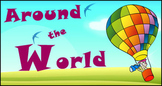 Six Times Table & Division Game - Around the World