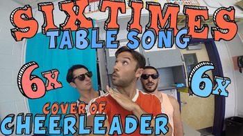Six Times Table Song (Cover of Cheerleader)