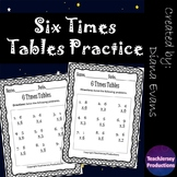 Six Times Tables Practice