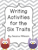 Six Trait Writing Activities