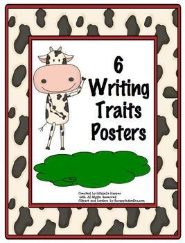 Six Trait Writing Mini-Posters