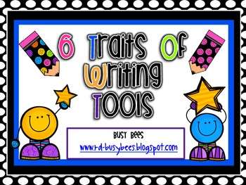 Six Trait Writing Posters and Mini Individual Student Goal Cards