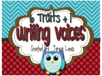 Six Traits (+1) of Writing Voices Owl Themed