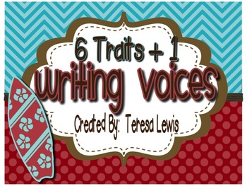 Six Traits (+1) of Writing Voices Surf Themed