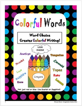 Six Traits-Colorful Words