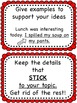 6 Six Traits Writing Bulletin Board Headers and Skill Cards