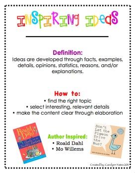 Six Traits Writing Student Cover