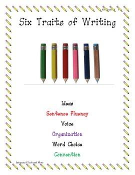 Six Traits of Writing Activity