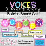 Six Traits of Writing Bulletin Board Set (FULL)- VOICES