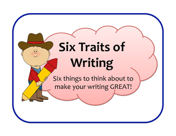 Six Traits of Writing Cowboy Style