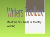 Six Traits of Writing Introduction Powerpoint