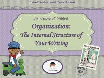 Six-Traits of Writing: Organization