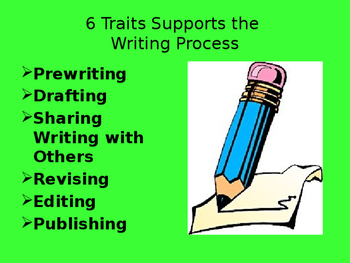 Six Traits of Writing PowerPoint