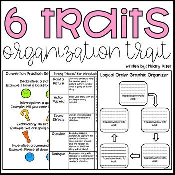 Six Traits of Writing Resource Series: Organization (Grades 3-5)